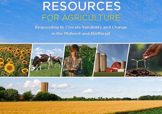 USDA Adaptation Resources for Agriculture Workbook cover graphic