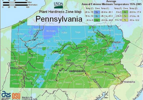 The 2012 USDA Plant Hardiness Zone Map is the standard by which gardeners and growers can determine which plants are most likely to thrive at a location.