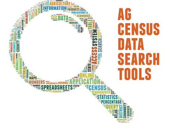 USDA tools are available so you can put the Census Data to work right away.