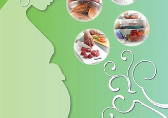 Cover of the booklet for Food Safety for Pregnant Women