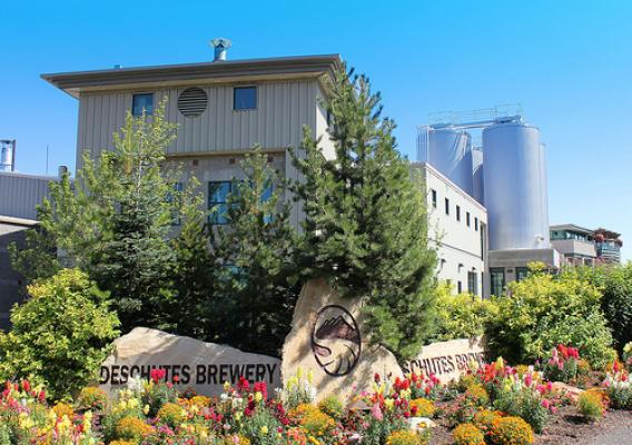 Today, Deschutes Brewery operates a large-scale production facility pictured here in Bend, Oregon, along with brew pubs in Bend and Portland. (Photo used with permission)