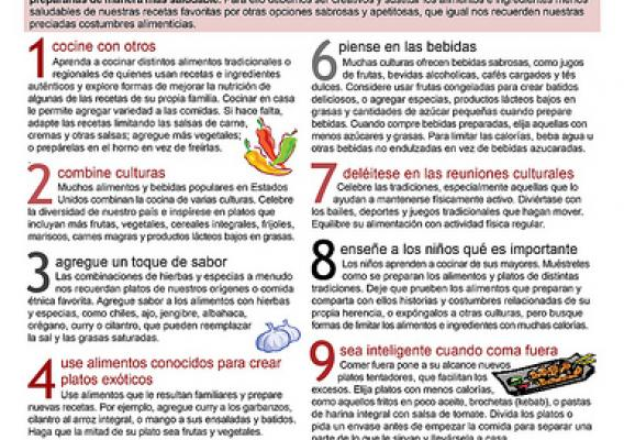 The 10 Tips Nutrition Education Series is available in English and Spanish.