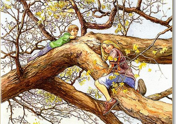 "A favorite U.S. Forest Service book for kids is ""Why Would Anyone Cut a Tree Down?"" which explains to children that, yes, there are reasons to cut trees. (U.S. Forest Service)"