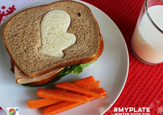 MyPlate offers easy ideas for making healthy foods festive and fun.