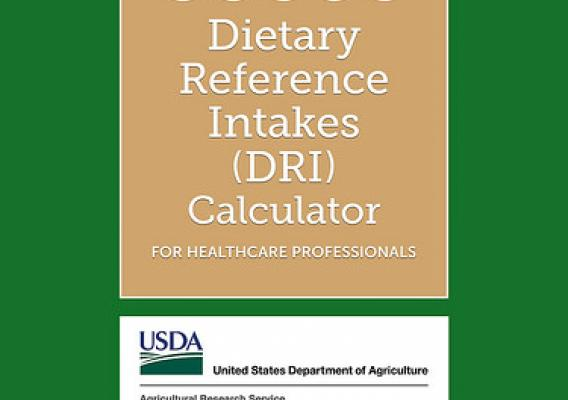 USDA Dietary Reference Intakes (DRI) Calculator for Healthcare Professionals app screenshot