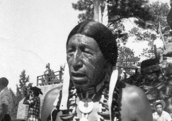 An undated photo of Black Elk