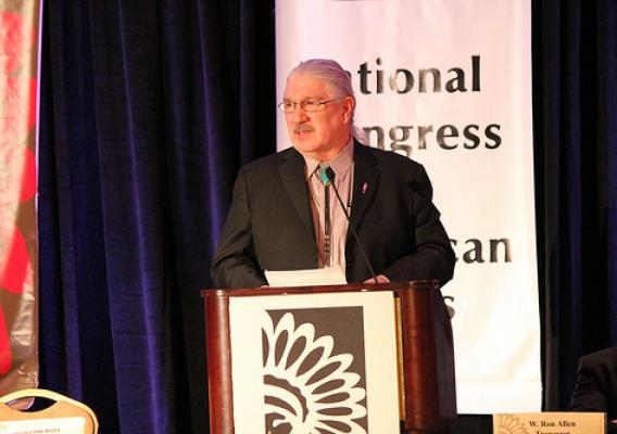 USDA Deputy Undersecretary Butch Blazer announced during the National Congress of American Indian's Executive Council Winter Session that he would help lead implementation of the Sacred Sites MOU.