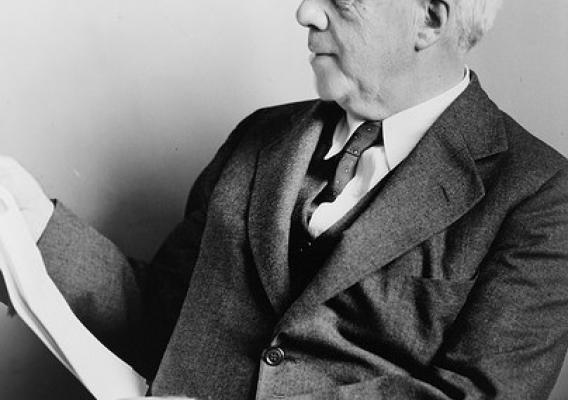 Robert Frost (1874-1963), one of the most popular and respected American poets of the twentieth century, was also a chicken farmer and egg producer in New Hampshire. Photo by Fred Palumbo, 1941, Library of Congress.