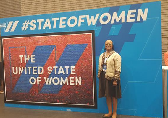 Joyce Hunter, USDA Deputy CIO, Policy and Planning at the United State of Women Summit