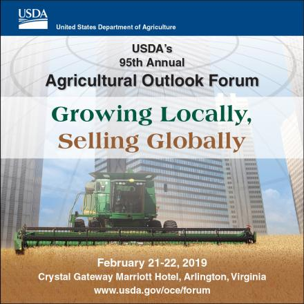 Image result for usda agricultural outlook forum 2019