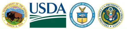 USDA and other agency logos