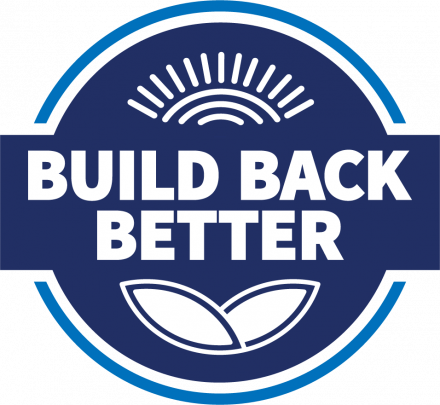 Build Back Better graphic
