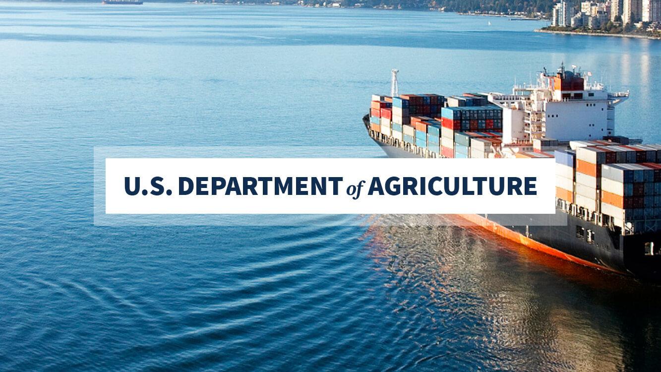 Statement from Secretary Vilsack on USDA Quarterly Trade Forecast